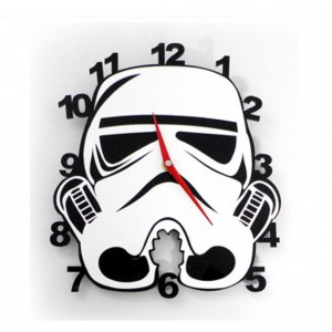 Stormtrooper: reloj de pared en metacrilato.