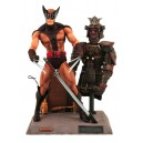 Marvel Select: Wolverine Action Figure (Lobezno traje marrón)