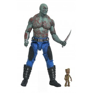Marvel Select: Guardians of the Galaxy 2 Drax & Baby Groot Action Figure