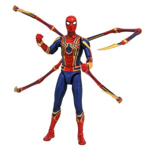 Marvel Select: Iron Spider-man Action Figure (Vengadores Infinity War)